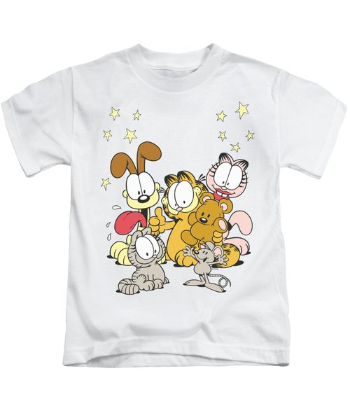 Garfield - Friends Are Best Kids T-Shirt