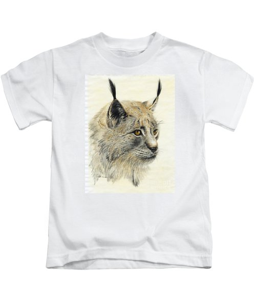 Gazing Lynx Kids T-Shirt