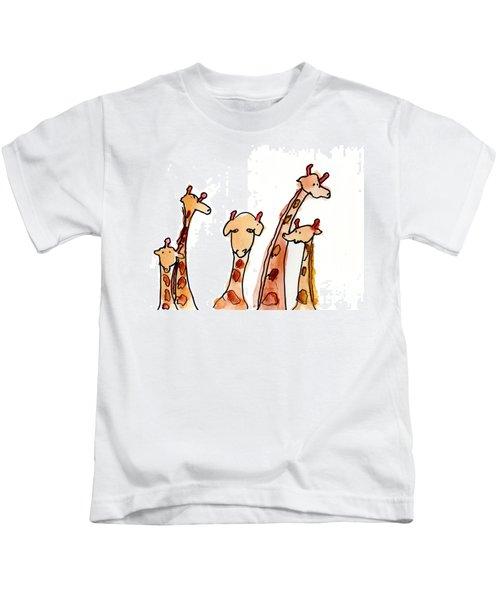 Giraffes Kids T-Shirt