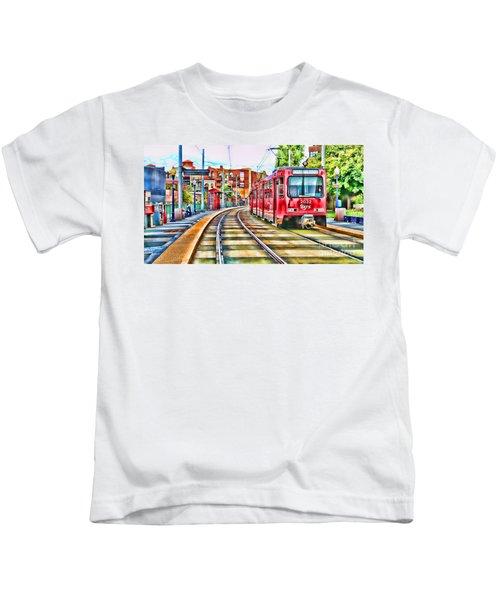 Going To Gillespie Field By Diana Sainz Kids T-Shirt