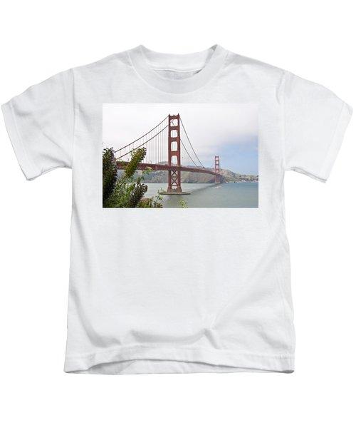 Golden Gate Bridge 3 Kids T-Shirt