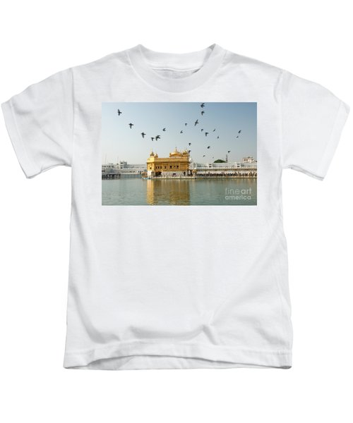 Golden Temple In Amritsar Kids T-Shirt