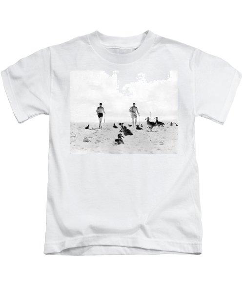 Golf With Gooney Birds Kids T-Shirt