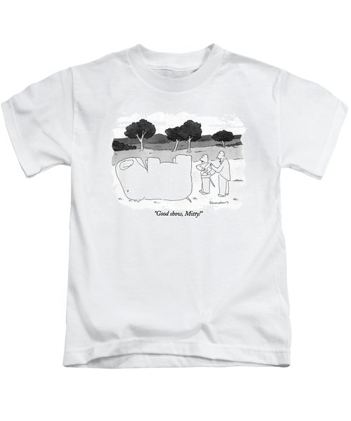 Good Show, Mitty! Kids T-Shirt