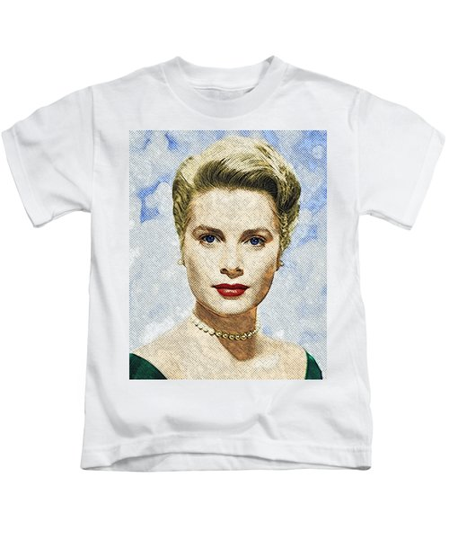 Grace Kelly Kids T-Shirt