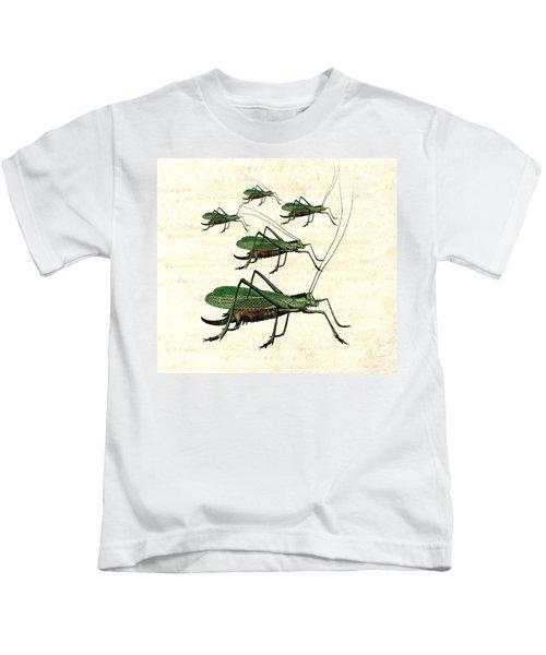 Grasshopper Parade 2 Kids T-Shirt