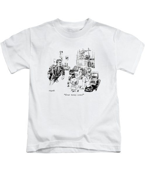 Great Money Scenes! Kids T-Shirt