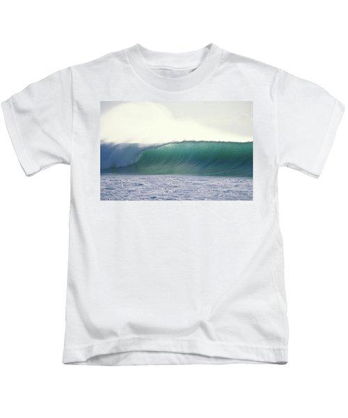 Green Feather Kids T-Shirt