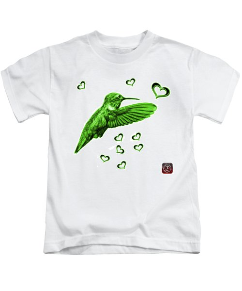 Green Hummingbird - 2055 F S M Kids T-Shirt