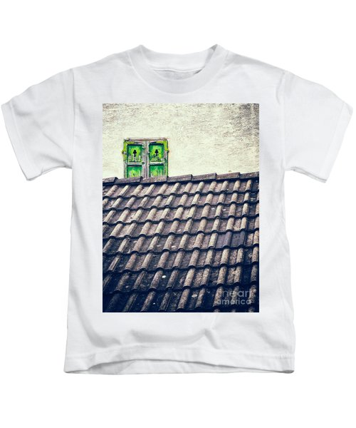 Green Shutters Kids T-Shirt