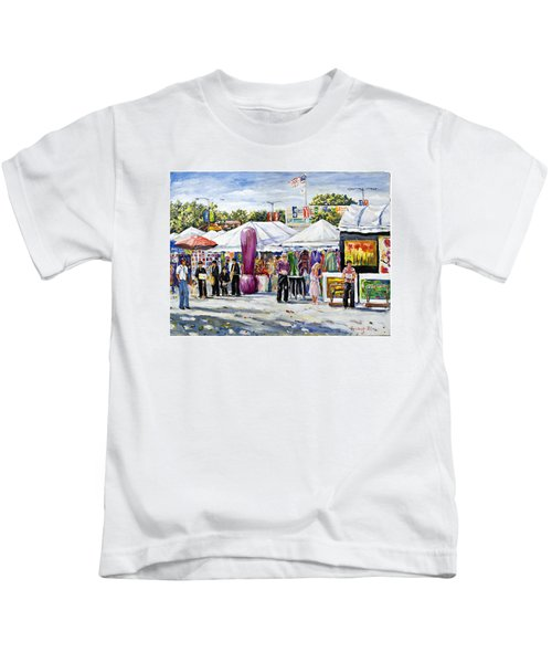 Greenwich Art Fair Kids T-Shirt