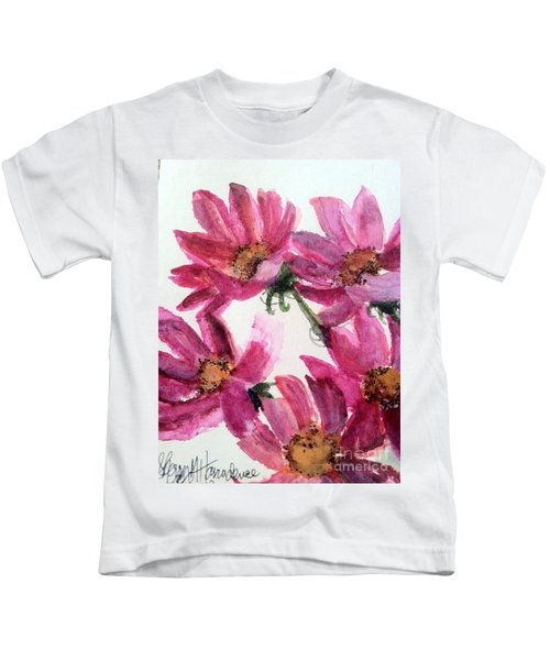 Gull Lake's Flowers Kids T-Shirt