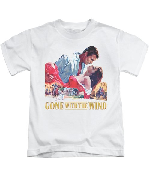 Gwtw - On Fire Kids T-Shirt