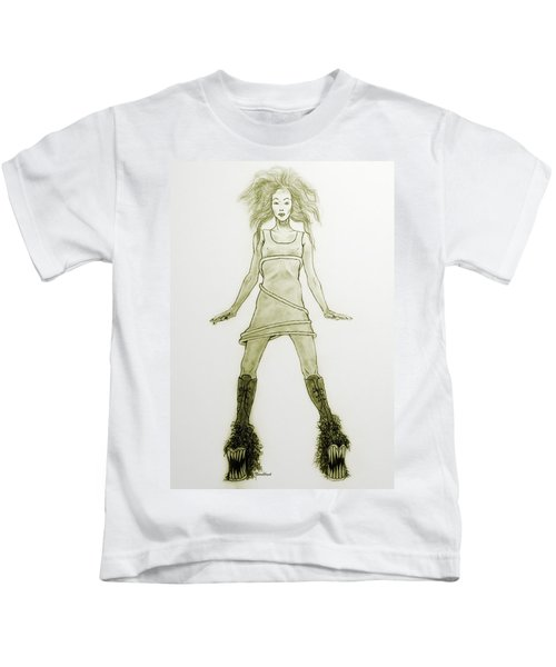 Hairy Boots Kids T-Shirt