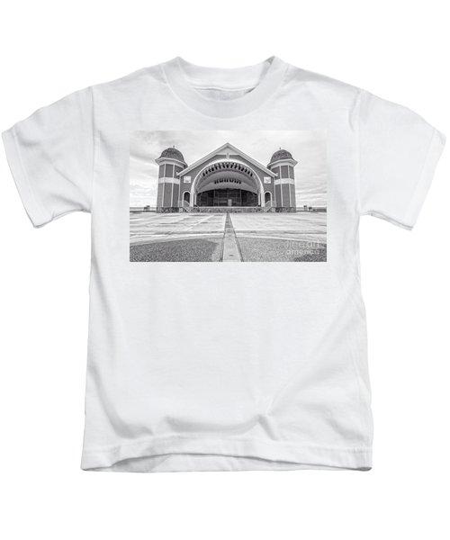 Hampton Beach Bandstand Stage Kids T-Shirt