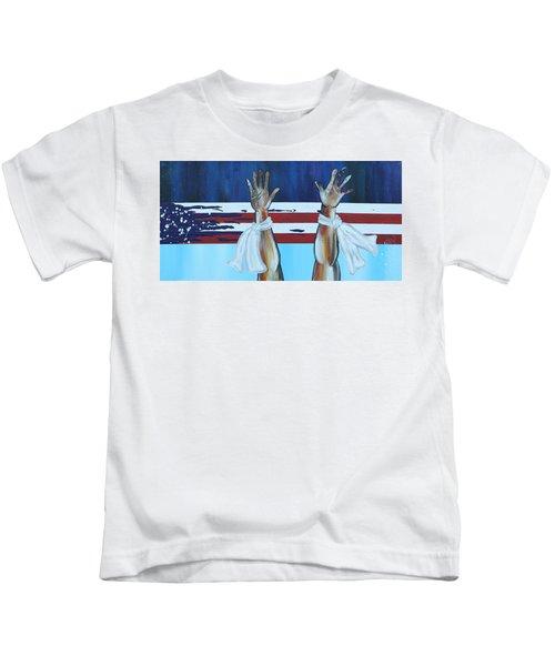 Hands Up Dont Shoot Kids T-Shirt