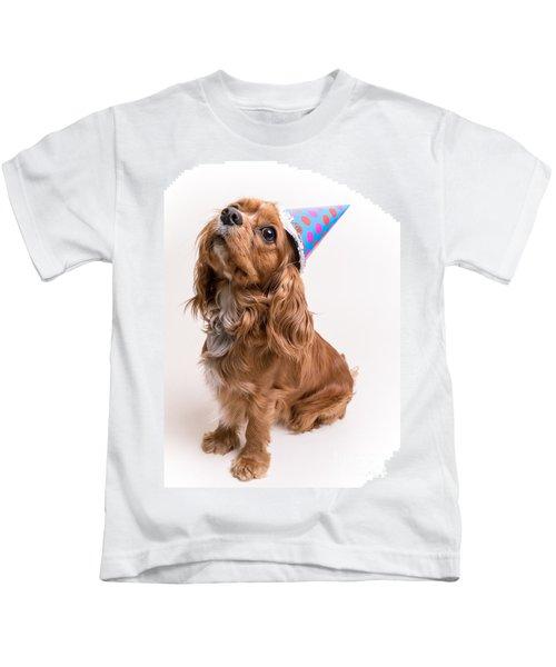Happy Birthday Dog Kids T Shirt