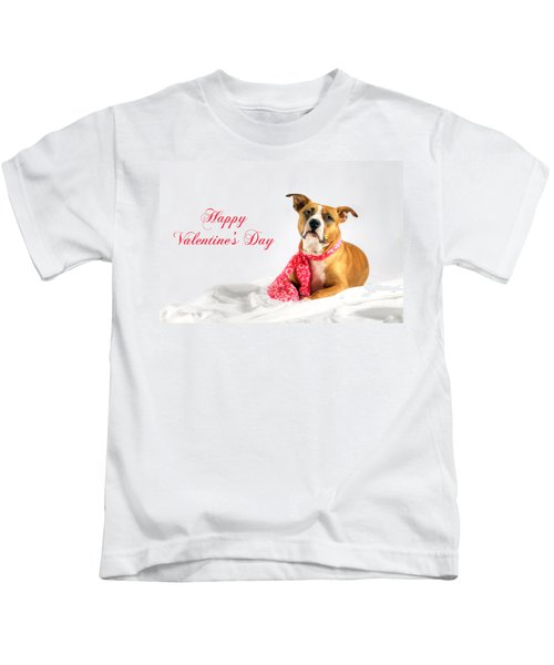 Fifty Shades Of Pink - Happy Valentine's Day Kids T-Shirt
