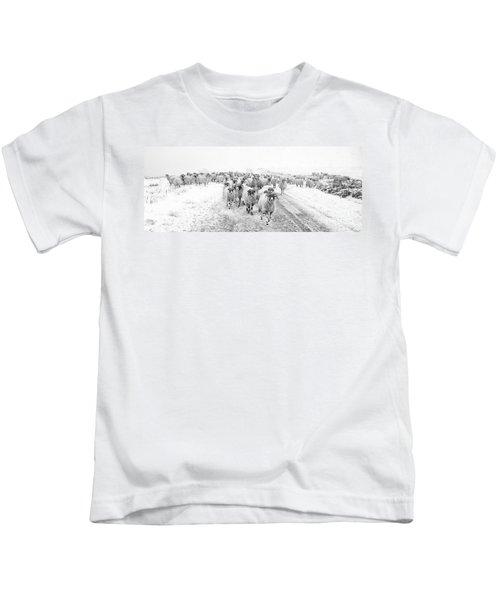 Heading For Home Kids T-Shirt