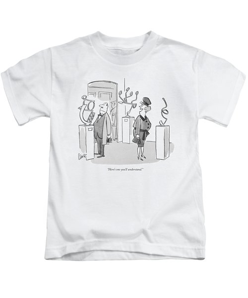 Here's One You'll Understand Kids T-Shirt