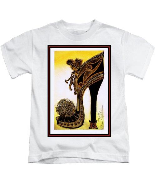 High Heel Heaven Kids T-Shirt