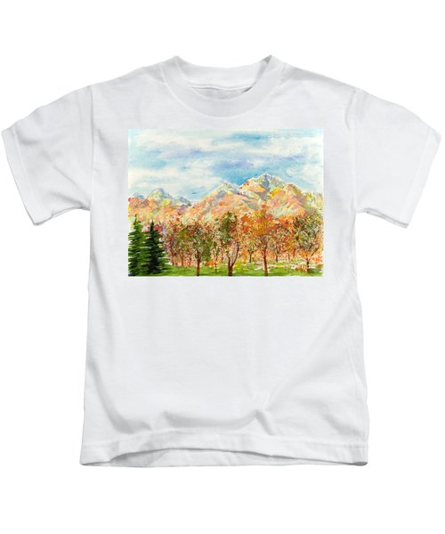 Highlands Autumn Kids T-Shirt