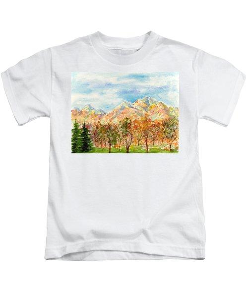 Highlands Autumn Kids T-Shirt