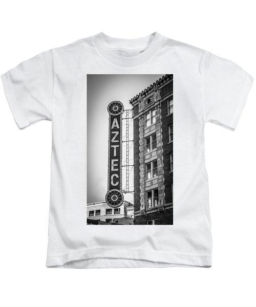 Historic Aztec Theater Kids T-Shirt