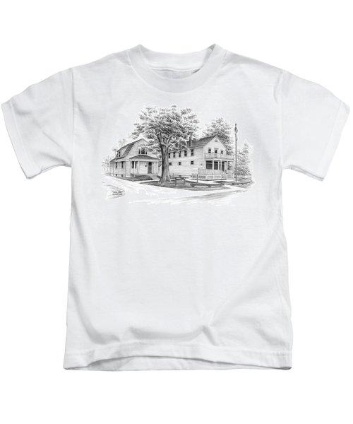 Historic Jaite Mill - Cuyahoga Valley National Park Kids T-Shirt