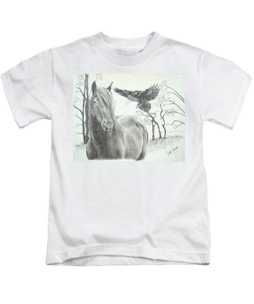 Hitch'n A Ride Kids T-Shirt
