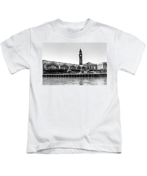 Hoboken Terminal Tower Kids T-Shirt