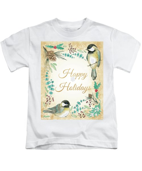Holiday Wishes II Kids T-Shirt