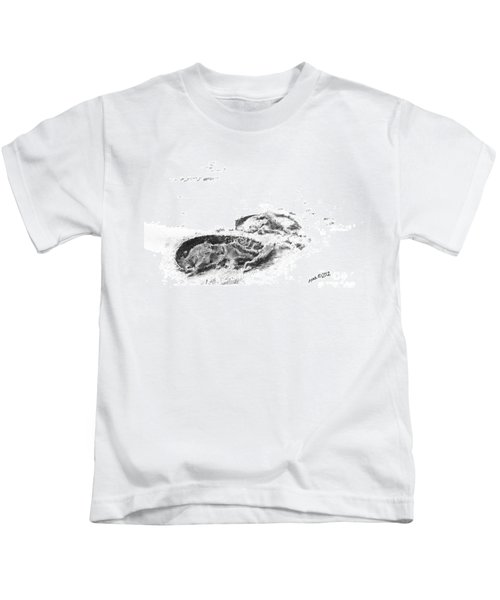 Hoof Prints Kids T-Shirt