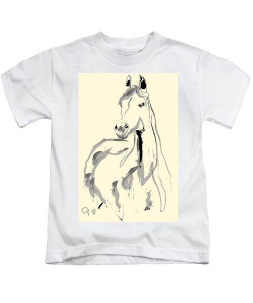 Horse - Arab Kids T-Shirt
