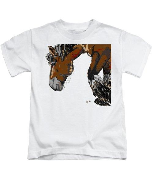 horse - Guus Kids T-Shirt
