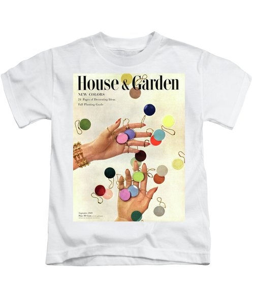 House & Garden Cover Of Woman's Hands With An Kids T-Shirt