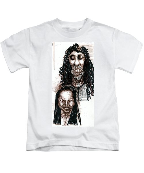 Howard Stern And Robin Quivers Kids T-Shirt
