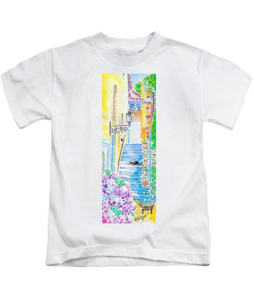 Hydrangeas And The Hotel Kids T-Shirt