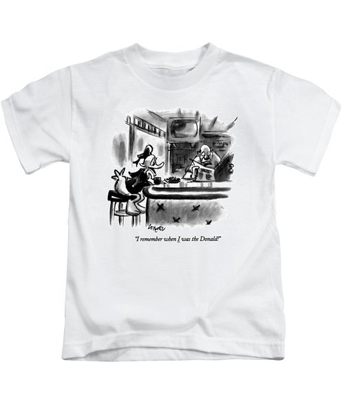 I Remember When I Was The Donald! Kids T-Shirt