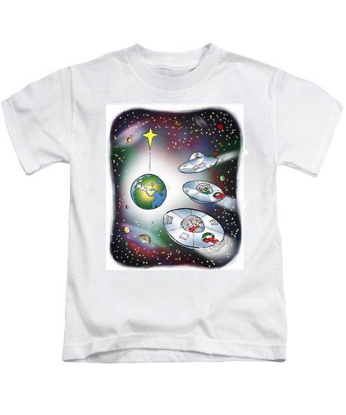 We Three Spacemen Kids T-Shirt