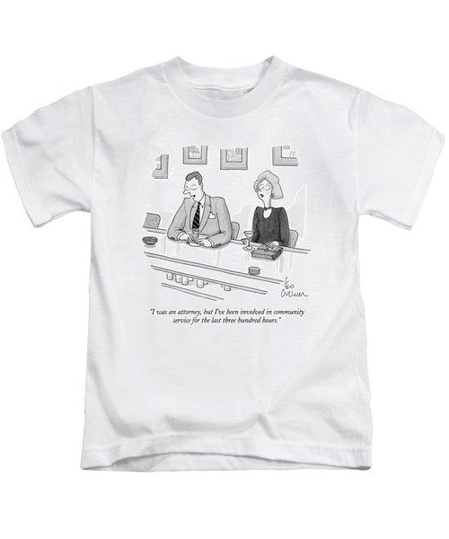 I Was An Attorney Kids T-Shirt