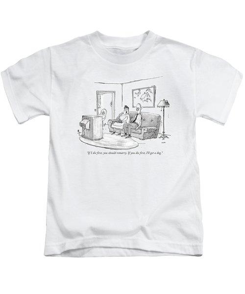 If I Die First Kids T-Shirt