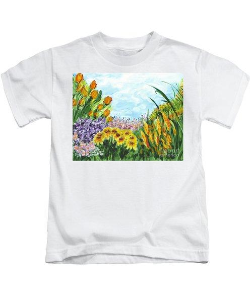 In My Garden Kids T-Shirt