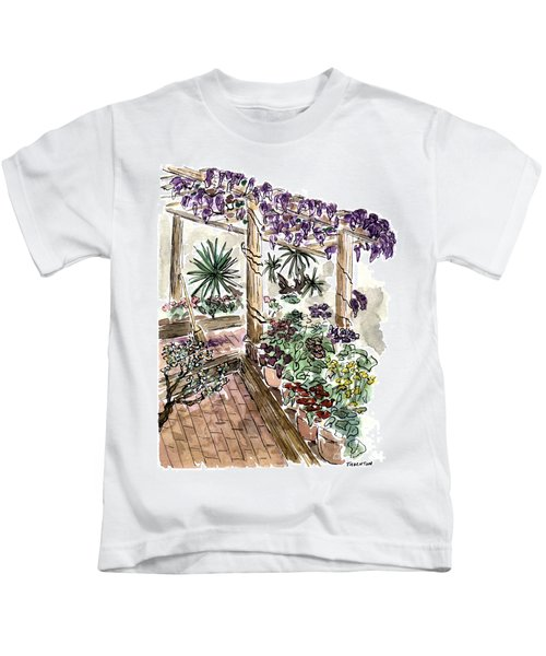 In The Greenhouse Kids T-Shirt