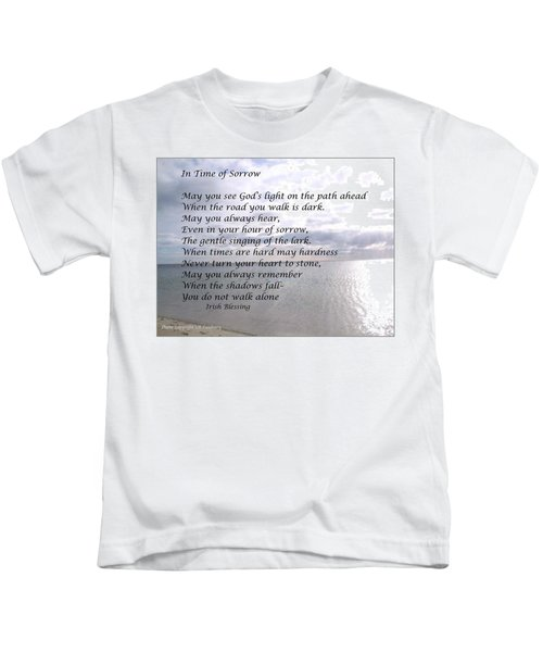 In Time Of Sorrow Kids T-Shirt