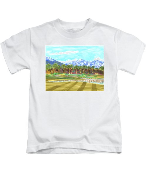 Indian Wells 18th Hole Kids T-Shirt
