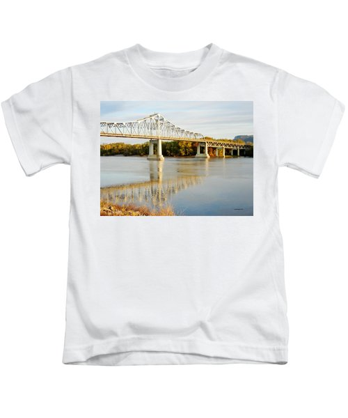 Interstate Bridge In Winona Kids T-Shirt