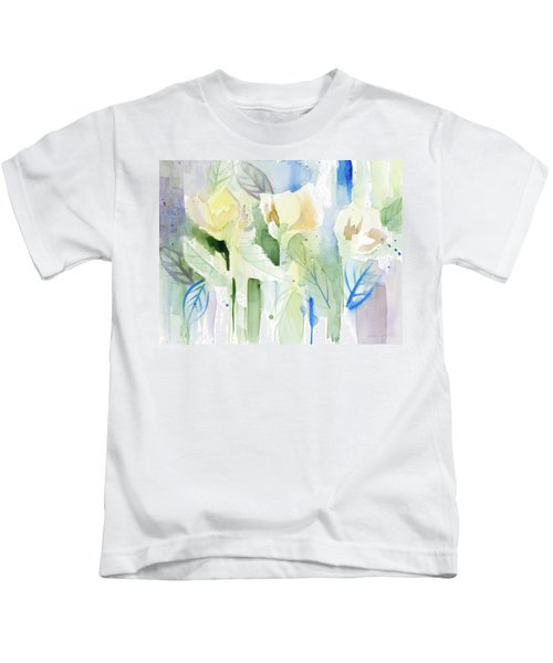 Into The Floral Foothills Kids T-Shirt
