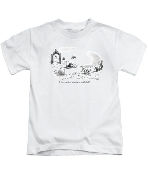Is There Any Chance Of Getting My Testicles Back? Kids T-Shirt
