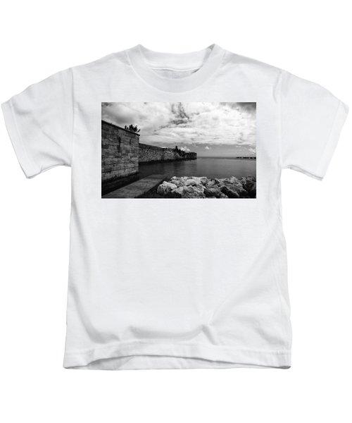 Island Fortress  Kids T-Shirt